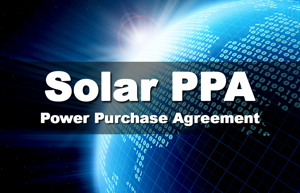 Solar Project Financing With A Pre Paid Power Purchase Agreement
